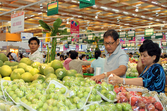 Đi siêu thị mua đồ ta có thể mua được sản phẩm chất lượng tốt