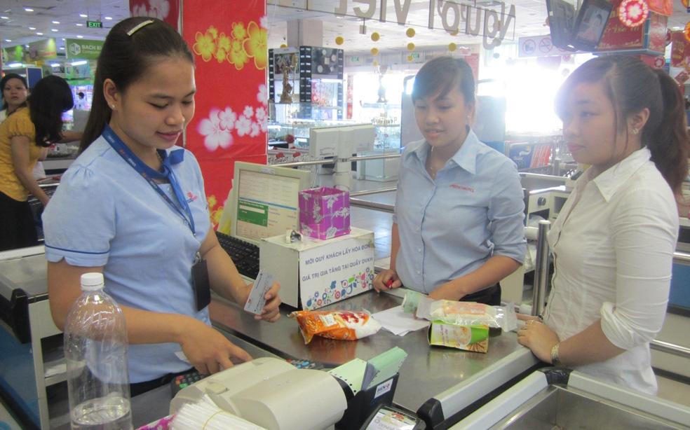 Đi siêu thị mua đồ - mọi phương thức mua bán đều trở nên dễ dàng
