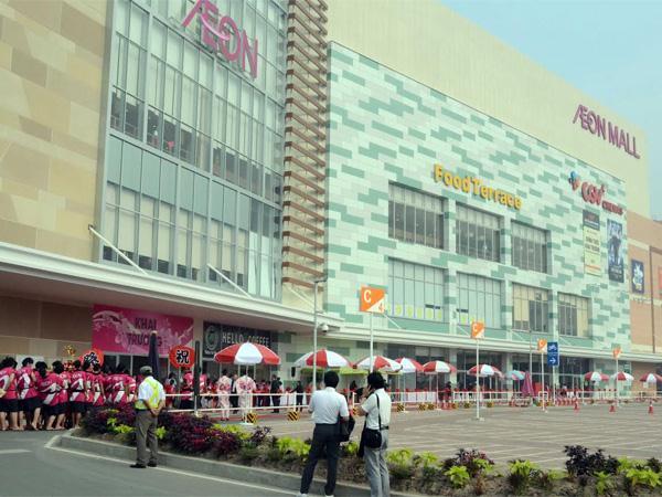 Aeon Mall Tân Phú là siêu thị Aeon lớn nhất Sài Gòn