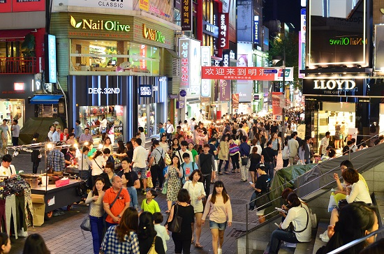 Hàn Quốc là thiên đường mua sắm cho mọi người