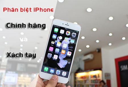 Iphone chính hãng và xách tay là gì?