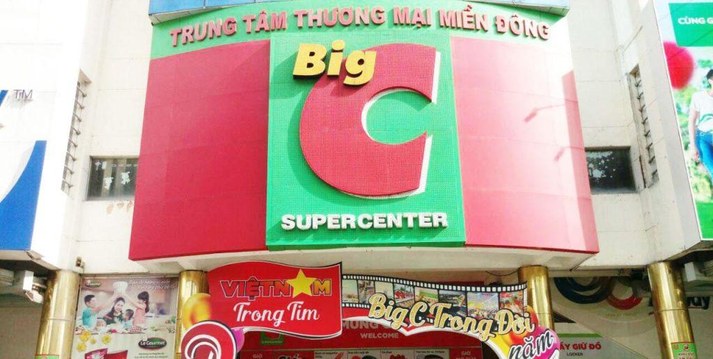 Lịch mở cửa siêu thị big C