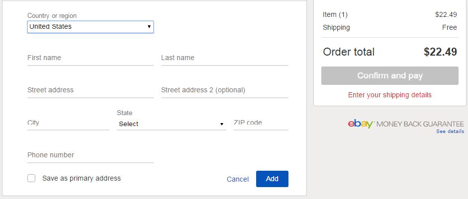 Kinh nghiệm thanh toán khi mua hàng trên ebay