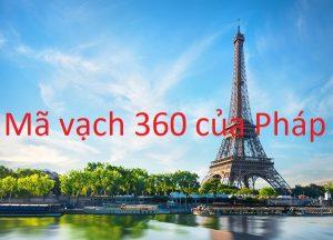 Mã vạch 360 của nước nào?