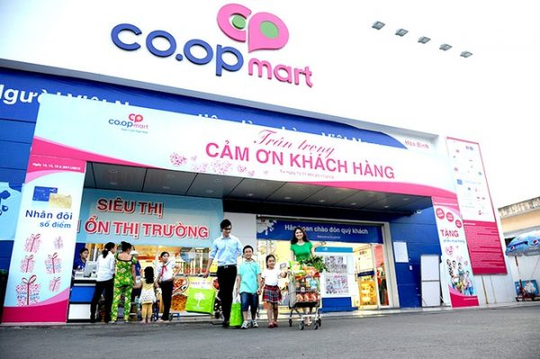 giờ mở cửa Coopmart